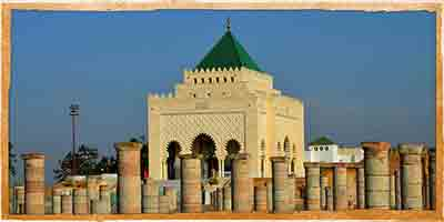 Rabat Mohamed 5 Mausoleumo Tour