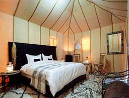 Luxury moroccco tour desert camp