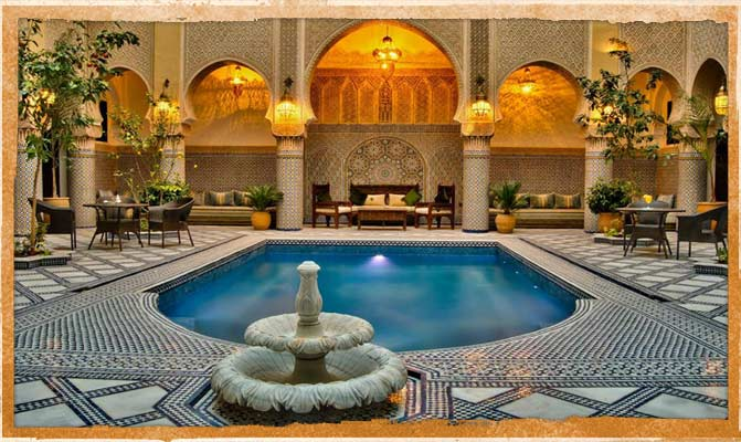 Luxury hotel in Morocco