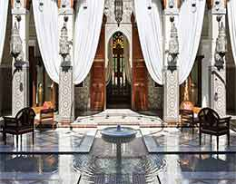 Moroccco tour luxury hotel